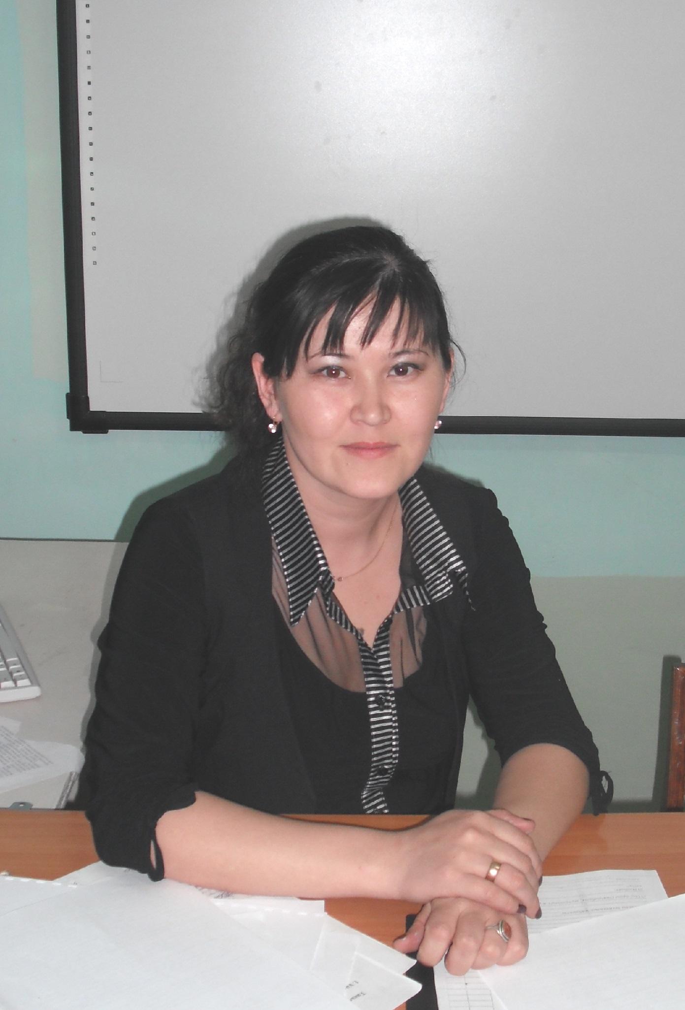 Байгазиева Акнур Ернисовна